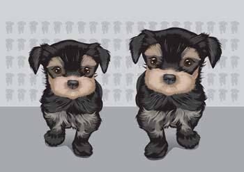 free vector Terrier 1
