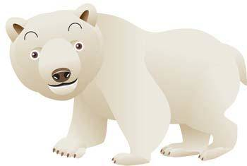 free vector Polar bear 2