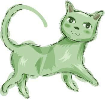Cat vector 85