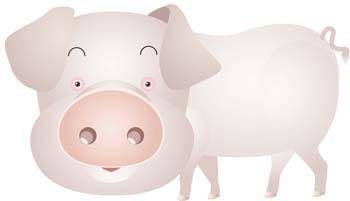free vector Pig 45