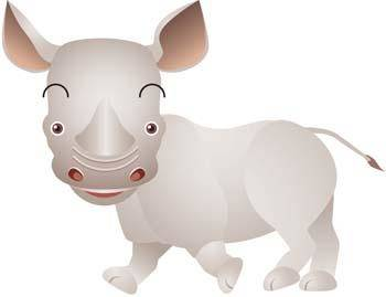 free vector Rhino 1