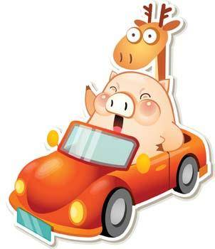 free vector Pig 11
