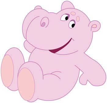 free vector Hippopotamus vector 2