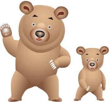 free vector Bear 9