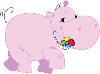 free vector Hippopotamus vector 1