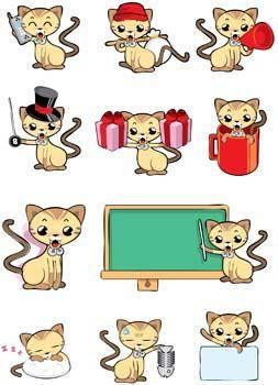 free vector Cat vector