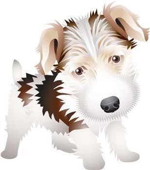 free vector Terrier 12