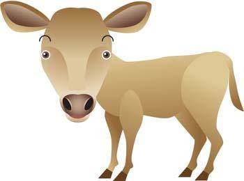 free vector Cow 15