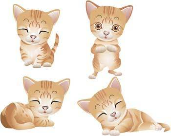free vector Cat vector 63