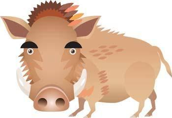 free vector Hog 2