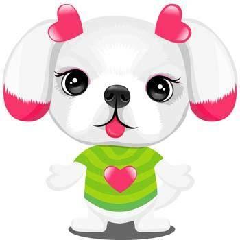 free vector Puppy vector 10