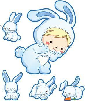 free vector Rabbit 14