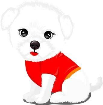 free vector Puppy vector 11