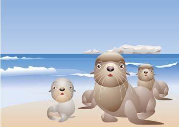 free vector Seals 3