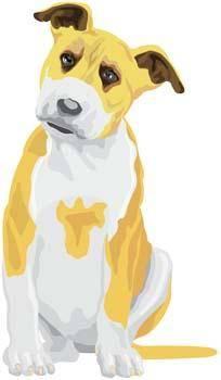 free vector Terrier 9