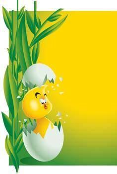 free vector Little Chicken vector 12
