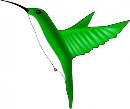 free vector Humming Bird clip art