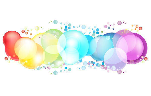 free vector Colorful Circles