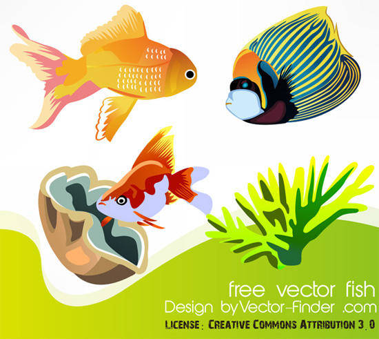 Free Vector Fish Animal Fish Free