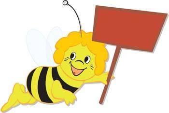 free vector Bee 1