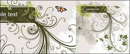Fashion pattern banner vector