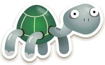 free vector Turtle 8