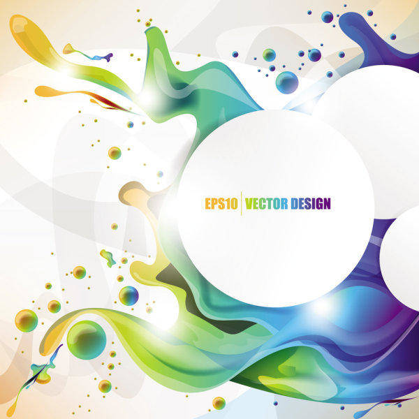 free vector Colorful Background 02-- Vector Material Fashion Beautiful Pattern