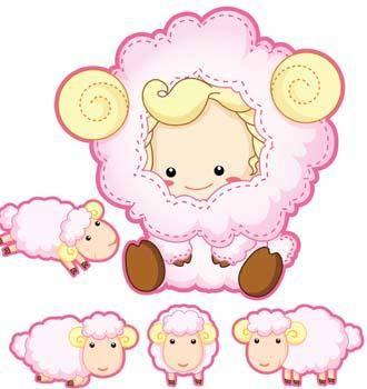 free vector Sheep vector 4