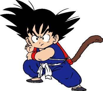 free vector Goku 2