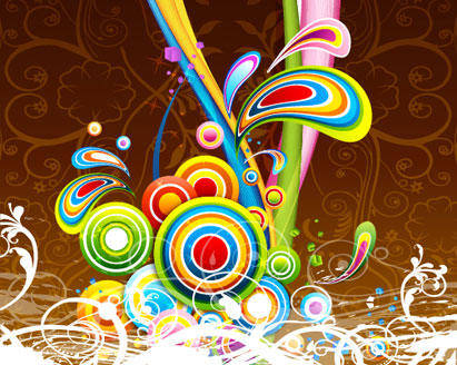 Abstract Background Abstract Background Colorful