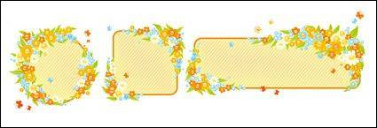 free vector Cute little flower box decorated