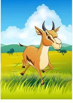 free vector Antelope Vector 4