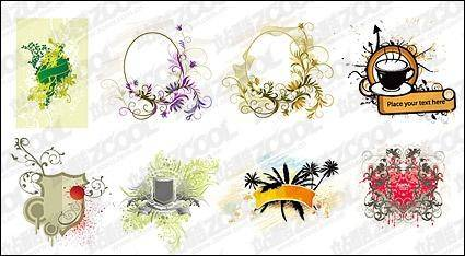Vector material elements of the trend patterns