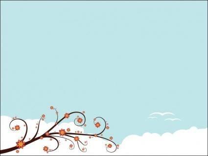free vector Springtime Banner