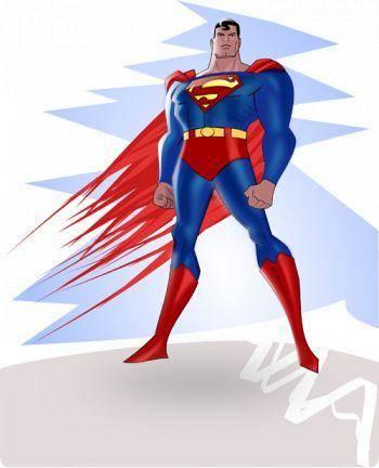 free vector Superman Vector eps