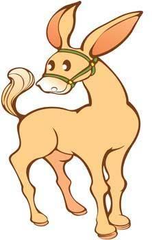 free vector Donkey 4