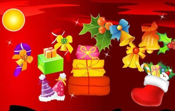 free vector Vector Christmas Christmas Presents Gifts