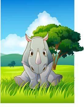 free vector Rhino 3