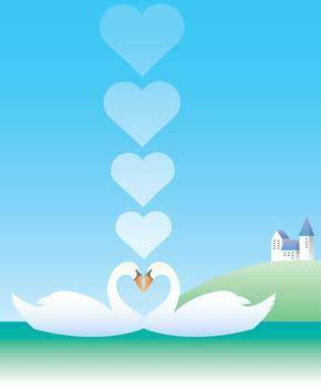 free vector Animal in love 4