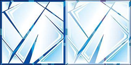 free vector Vector glass cracked material