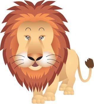 free vector Lion 6