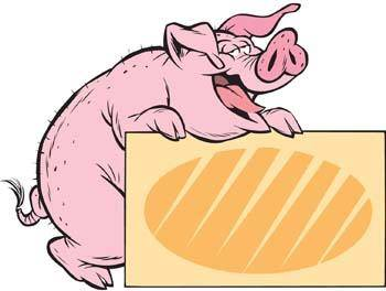 free vector Pig 39