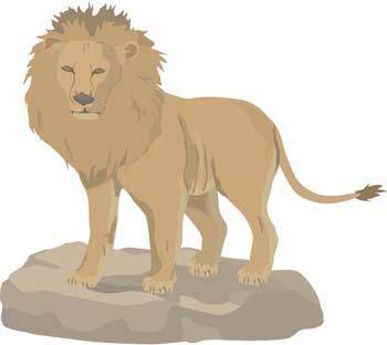 free vector Lion 3