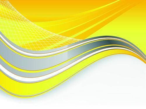 Bright Yellow Line Text Box Vector Material -2 Mobile Bright Yellow Text Boxes