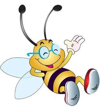 free vector Bee 4