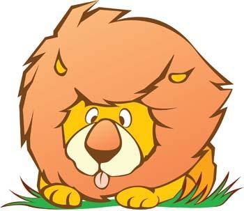 free vector Lion 9