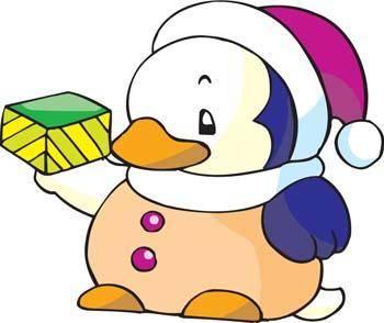 free vector Penguin 5