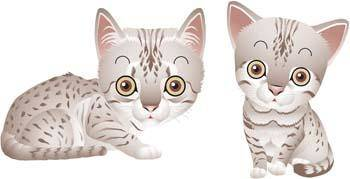 free vector Cat vector 60