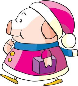 free vector Pig 32