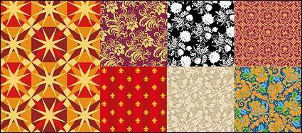 free vector Vector background patterns useful material